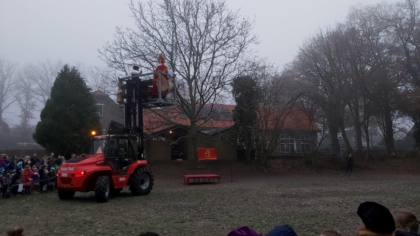Aankomst van Sinterklaas